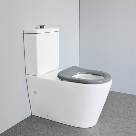 New style length 800mm handicappe standard two piece rimless disabled toilets