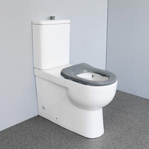 Behinderte Standard 3L / 4.5L Dual-Flush randloses Wasserzeichen zweiteilige Toilette Keramik-Deaktiviertoiletten
