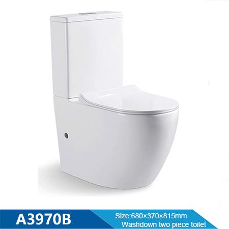 MWD bathroom wc washdown toilet two piece sanitary ware white ceramic wc toilet