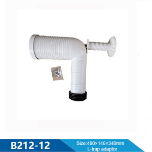 Watermark L-trap adaptor PVC drainage pipes (for Water System)