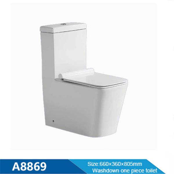 Badezimmer Sanitärkeramik Toilette Washdown Toilette Großhandel einteilige Toilette Großhandel China Keramik Toilette WC Toilette Großhandel