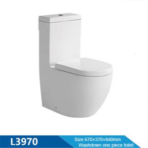 Suministro de fábrica de inodoros de baño inodoro de baño destacado chaozhou inodoro de una pieza de doble descarga inodoro sanitario al por mayor