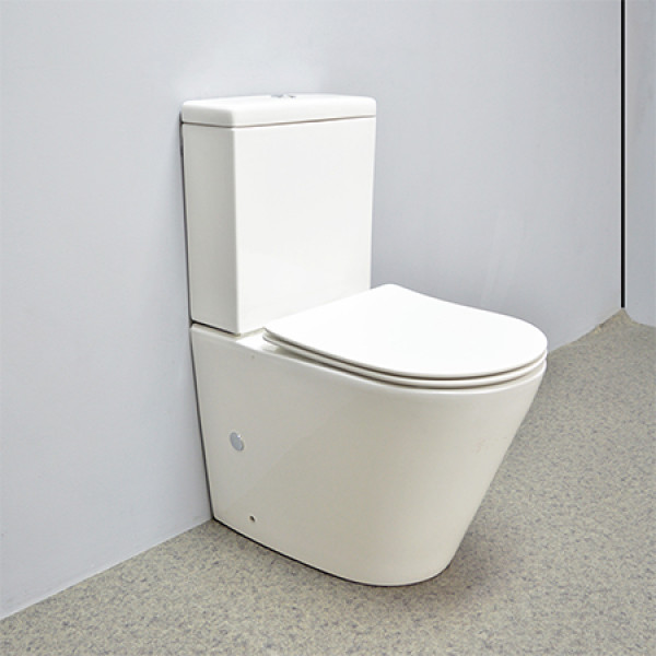 toilet flushing flowrate 3L/4.5L ceramic toilet back to wall bathroom wholesale