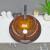 lucency Glas rundes Aufsatzwaschbecken Waschbecken Waschbecken für Hotels