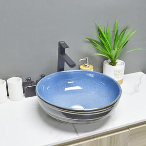 MWD Keramikwaschbecken akzeptable maßgeschneiderte Aufsatzbecken für Badezimmer