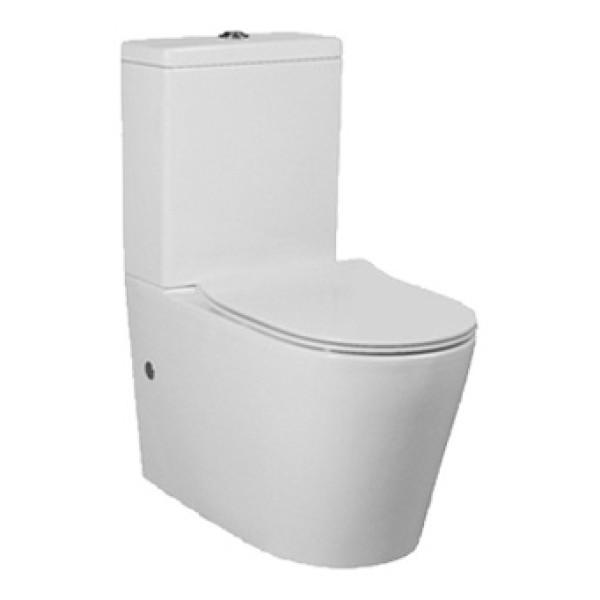 Amerikanischer Standard Schwerkraft Washdown zweiteilige Toilettenschüssel Bodenhalterung für Badezimmer