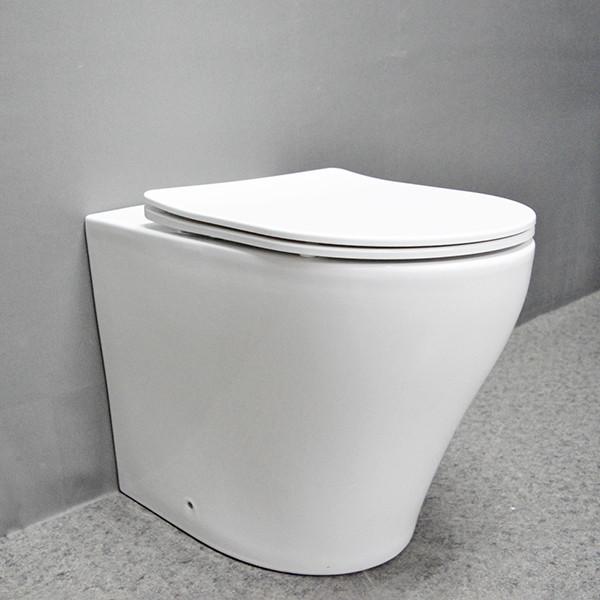 Großhandel Nano-Glasur-Tornado-WC-Wasserzeichen verdeckte Zisterne auf dem Boden montierte Toilette