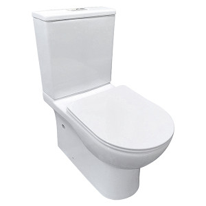 China Factory Supplier Bathroom Creamic Sanitary Ware Two Piece Watermark Toilet