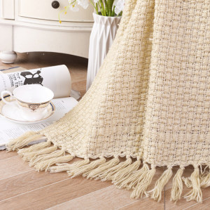 Оптовый мягкий диван-кровать, накидка на диван, вязаное одеяло с кисточками
