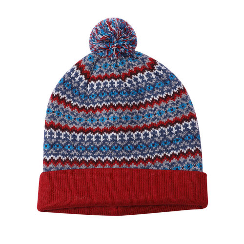 Las señoras del OEM hicieron punto los sombreros anti-pilling al por mayor del telar jacquar