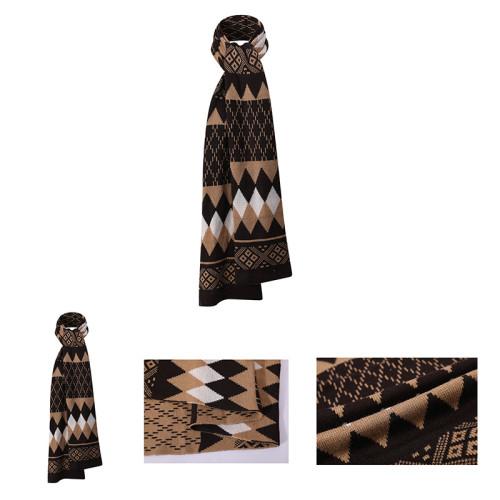 La venta al por mayor del modelo de la bufanda del punto doble del OEM recicla la bufanda caliente
