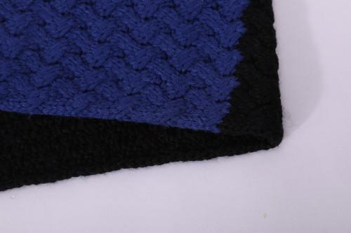 Bufanda Anti-pilling del lazo del círculo del modelo que hace punto de la bufanda de las muchachas al por mayor del OEM