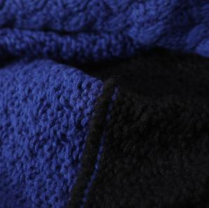 OEM оптовый шарф для девочек вязание выкройки Anti-pilling круг петли шарф