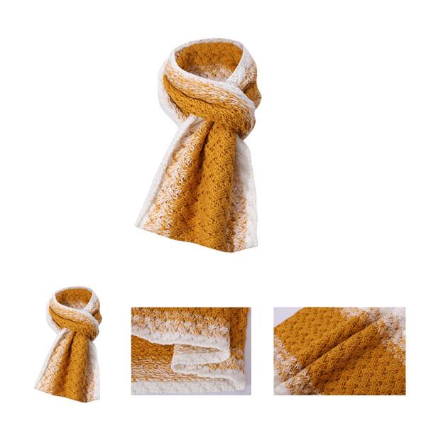 OEM рециркулирует женский вязаный шарф оптом теплый шарф