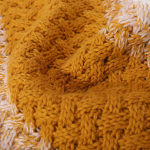El OEM recicla la bufanda caliente hecha punto de la bufanda de las señoras al por mayor