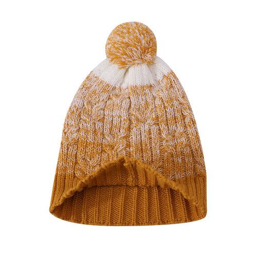 OEM женские вязаные кабельные шапки оптом против пиллинга