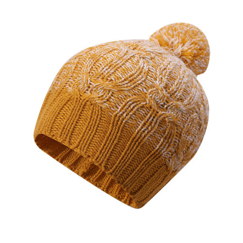 Las señoras del OEM hicieron punto los sombreros anti-pilling de la venta al por mayor del cable