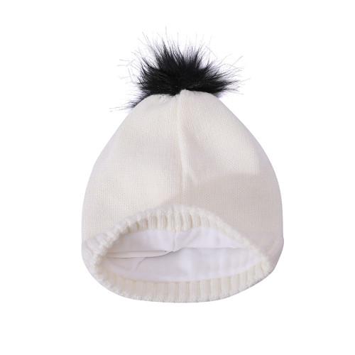 OEM женские трикотажные двухслойные флисовые теплые льняные шапки оптом с вышивкой
