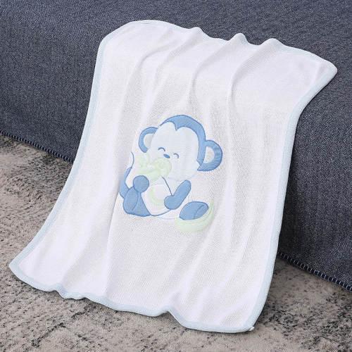 Couverture de bébé tricotée douce et parfaite pour les garçons et les filles