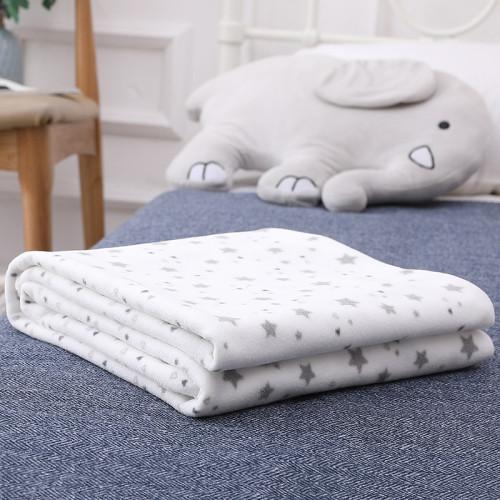 Manta tejida para bebé Venta al por mayor Mantas reciclables para niños pequeños Manta tejida para recién nacidos para niños y niñas