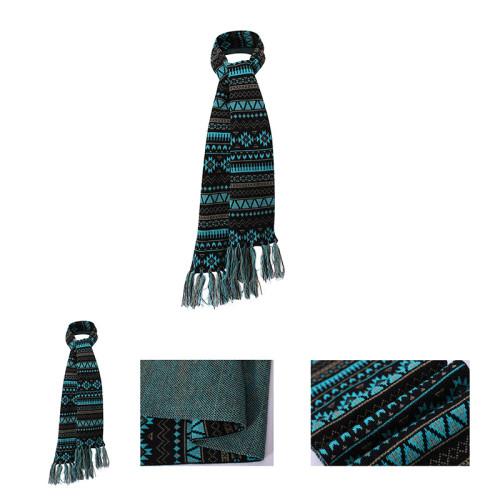 OEM оптовая переработка простой узор для вязания шарфа