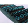 La venta al por mayor del OEM recicla el modelo que hace punto de la bufanda fácil