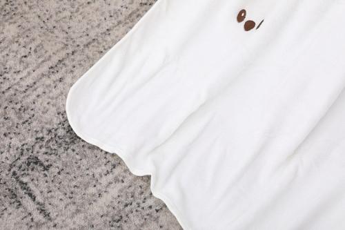 Оптовое вязаное детское одеяло из вторсырья, мягкое пеленание Minky, двусторонний унисекс, подарок для новорожденных