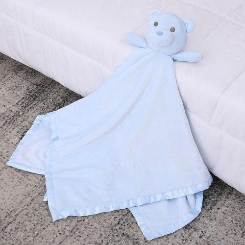 Manta de seguridad para bebés - manta de bebé al por mayor de punto de peluche suave