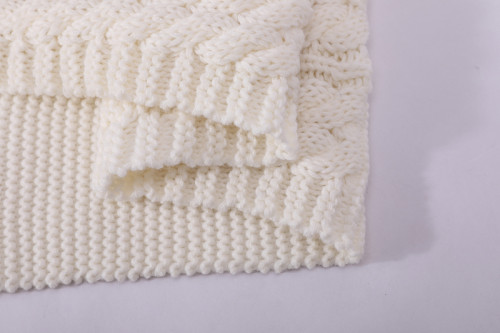 OEM кабель вязать шарф узор оптом анти-пиллинг шарф