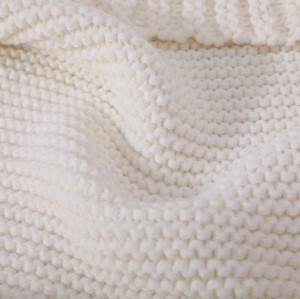 Bufanda anti-pilling de la venta al por mayor del modelo de la bufanda del punto del cable del OEM