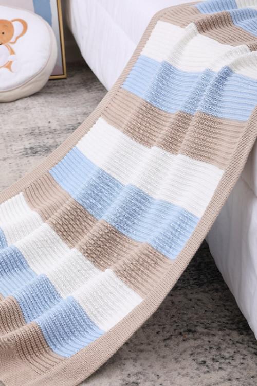 Вязаное детское органическое одеяло с запахом для пеленания, теплые оптовые одеяла для коляски для новорожденных или младенцев