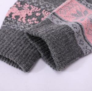 Los guantes de la pantalla táctil del OEM venden al por mayor los guantes hechos punto las mujeres anti-pilling