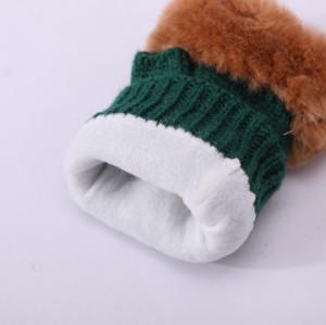 Перчатки без пальцев для оптовых производителей оборудования для вторичного использования трикотажных перчаток