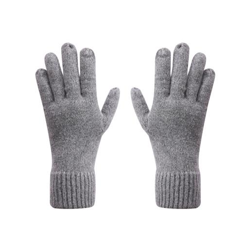 Guantes calientes Anti-pilling de los guantes del punto del invierno de las mujeres al por mayor del OEM