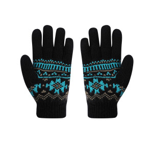 OEM Wholesale Knitted Gloves With Fingers Recycle Winter Gloves