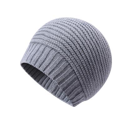 Sombreros anti-pilling al por mayor del revés del invierno del punto de los hombres del OEM
