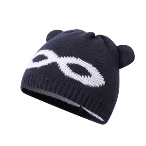 Wholesale Knitted Baby Hat Newborn Hat Adorable Cotton Bear Ear Beanie Cap