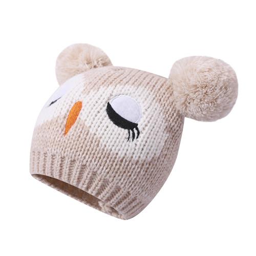 Оптовые детские шапки, шарф, перчатки, теплые зимние 3 шт.