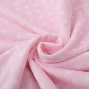Star Pattern Оптовая Вязаное Детское Одеяло Малыша Получая Одеяло Супер Мягкое