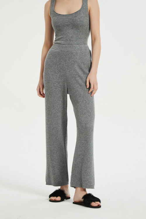 Женские легкие трикотажные пижамы свободного кроя