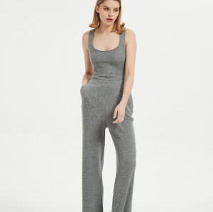 Pijama de punto ligero de corte relajado para mujer