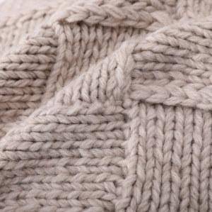 Funda de almohada de tiro al por mayor, cojín de punto decorativo suave y acogedor