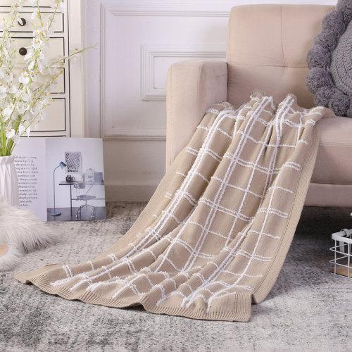 Manta al por mayor del paño grueso y suave de Sherpa, manta caliente adicional borrosa de la manta reciclable estupenda del punto