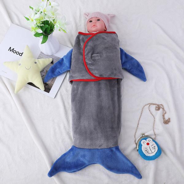 Wholesale Super Soft and Comfortable All Seasons Shark Tail Baby Sleep Sack
