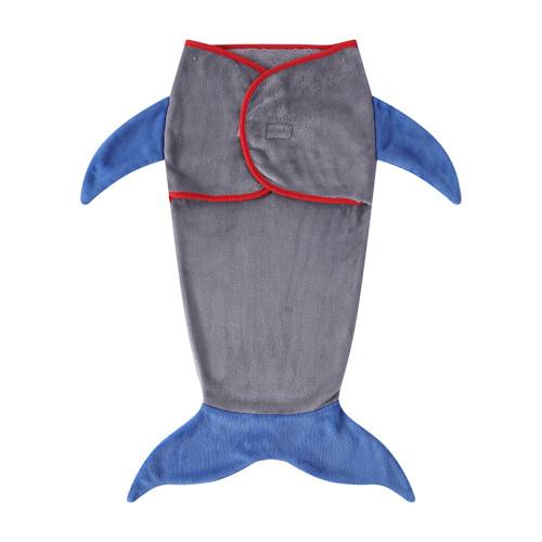 Saco de dormir para bebé con cola de tiburón para todas las estaciones, súper suave y cómodo al por mayor