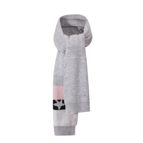 Venta al por mayor Bufanda de punto de invierno para bebé Acogedor para niños pequeños, niñas, calentador de cuello, forro de lana, bufandas de bucle unisex
