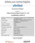 Alibaba Verified Supplier