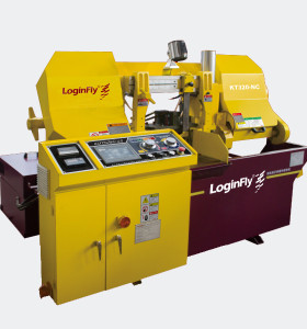 KT320-NC automatic band saw machine for metal cutting