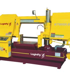 KT8050-S semi auto horizontal pipe cutting band saw machine