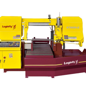 KT9050-G semiauto hydraulic band saw horizontal metal cutting machine